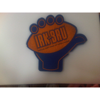 RUGBY BALL FOAM HAND