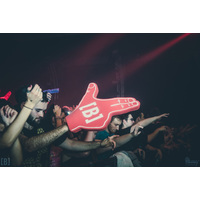 SHOOTER GUN FOAM FINGER DESIGN