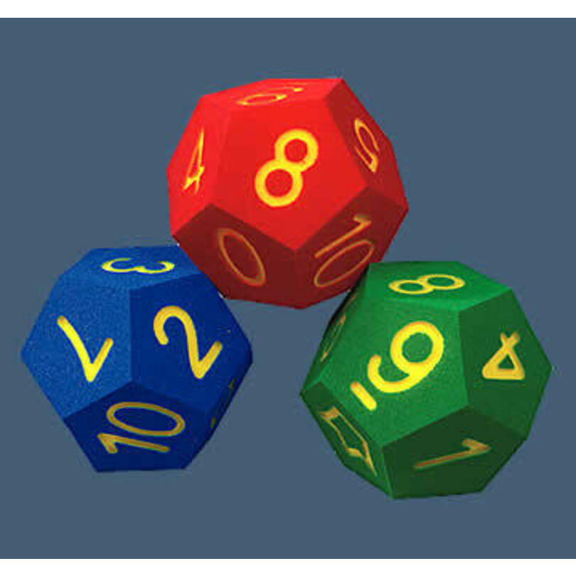 Dodecahedron Dice | PromoFoam