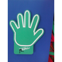 OPEN HAND ICON SHAPE FOAM HAND CUSTOM DESIGNED FOR YOU
