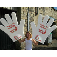 MASSIVE SIZE FOAM HANDS FOR PROMOTIONAL ACTIVITY