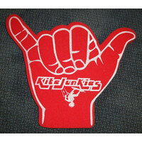 SHAKA, HANG TEN, HOOK'EM HORNS FOAM HAND