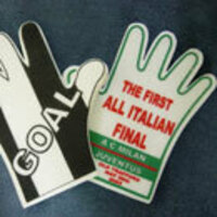 OPEN PALM WAVING FOAM HAND FOR PROMOTION STYLE 1
