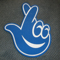NATIONAL LOTTERY FOAM FINGER MERCHANDISE