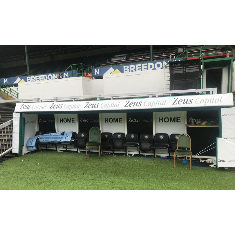 Pitch-side Dugout Protection . | PromoFoam