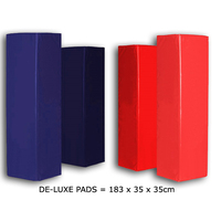Deluxe series Plain colour Rugby Post pads - Set of 4
