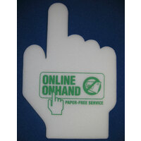 ICONIC  POINT FOAM FINGER DESIGN