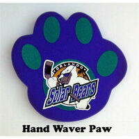 ROUNDED FOAM PAW WAVER