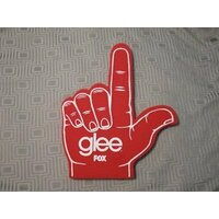 GLEE STYLE CUSTOM PRINT FOAM FINGER