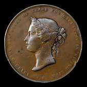 Grimsby Trawlerman's Board of Trade Sea Gallantry Medal in Bronze, awarded to Alfred Lison of the...