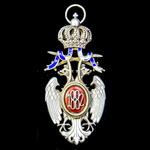 Serbia - Kingdom of: Order of the White Eagle, 4th / 5th Class, Knight / Officer's Grade, being t...