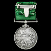 Volunteer Force Long Service Medal, EVII bust, impressed naming, awarded to Colour Serjeant W. Ma...