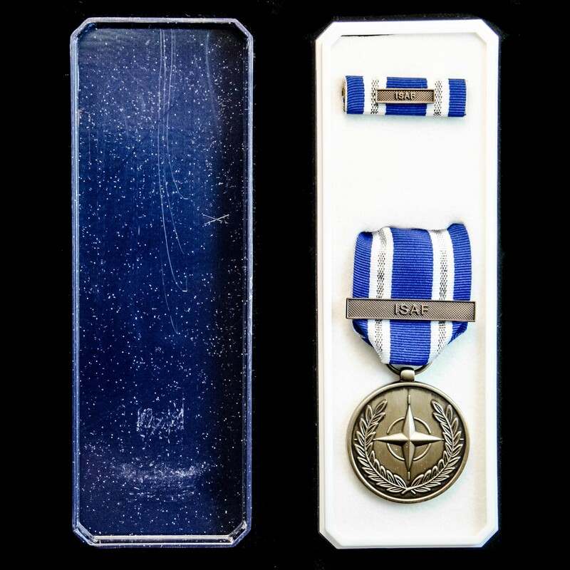Nato Medal for Non Article 5 .   London Medal Company