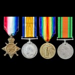 Great War Western Front and Second World War Home Front group awarded to Private W. Ireland, 2nd ...