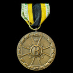 Germany - Imperial States - Saxe-Meiningen: War Merit Medal 1914-1915 in Bronze.