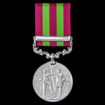 India General Service Medal 1895-1902, 1 Clasp: Relief of Chitral 1895, awarded to Lance Corporal...