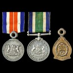 Union of South Africa and Republic of South Africa Medal for Merit in the South African Prisons S...