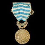 France: Medal for the Levant 1918-1922, with bar Levant, 30 mm in bronze