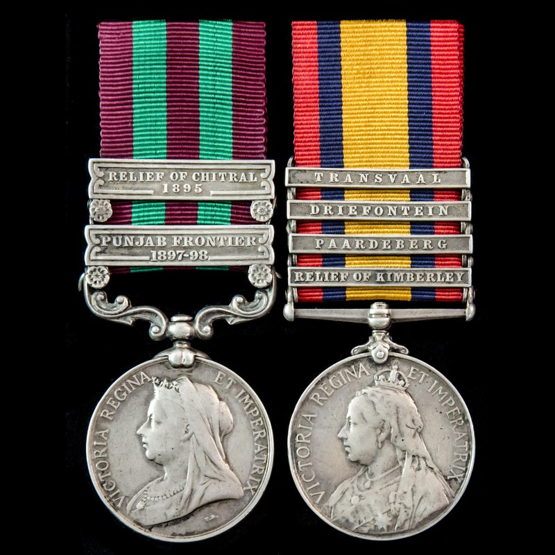 India Relief of Chitral 1897,. | London Medal Company