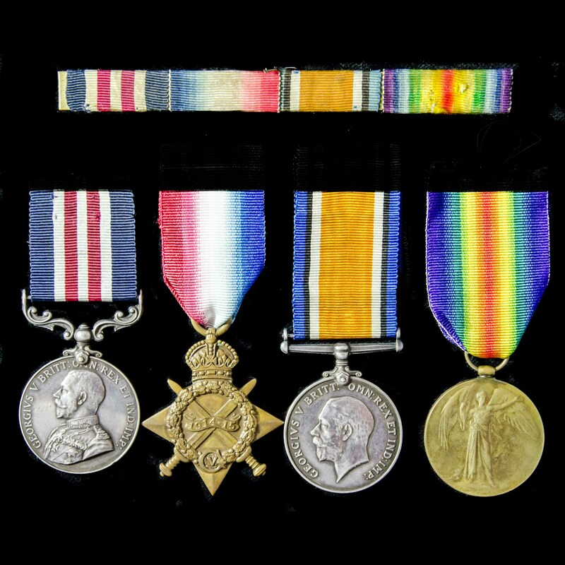 A fine Great War Battle of th. | London Medal Company