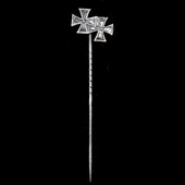 Germany - Imperial: Miniature stick pin for the awards of the Iron Cross 1914 1st Class and Iron ...