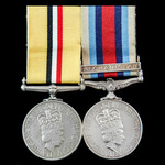 Iraq Operation Telic and Afghanistan Operation Herrick 9 pair awarded to Marine N. Soper, Royal M...