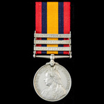 A fine Queen's South Africa Medal 1899-1902, 3 Clasps: Cape Colony, Relief of Ladysmith, South Af...