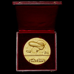 France: Ministèrede l'Air - Ministry of Aviation 1936 Aerostation Honorary Competition Gold Award...
