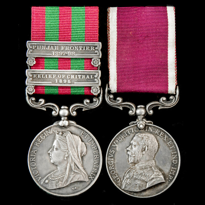 India Relief of Chitral 1895 . | London Medal Company