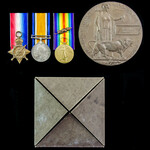 Great War Third Battle of Ypres Officer Casualty 1914 double Mention in Despatches trio awarded t...