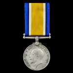 British War Medal 1914-1919 awarded to Private R.C. Scanes, Royal Berkshire Regiment who became a...