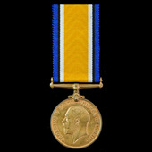 A scarce British War Medal 1914-1919 in Bronze awarded to Private L. Mohooane, South African Nati...