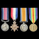 A fine Great War Battle of the Somme Military Medal group awarded to Lance Corporal later Acting ...