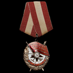 Russia – Soviet: A fine 'destruction of the Halbe Pocket' Order of the Red Banner awarded to Guar...