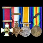 The good Great War 1914 and January 1917 Distinguished Service Order group awarded to Lieutenant ...