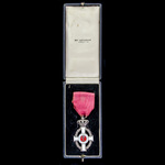 Greece: Royal Order of George I, 5th Class, Knight's Silver Cross, Civil Division, breast insigni...