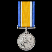 British War Medal 1914-1919, award to Chief Stoker J. Hughes, Royal Navy, who saw service for the...