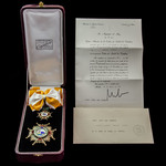 Spain: A Superb Example of the Order of Isabel La Catolica Knight Grand Cross Set, in silver, gil...