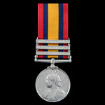Queen's South Africa Medal 1899-1902, 3 Clasps: Cape Colony, Orange Free State, Transvaal, early ...