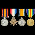 South Africa Boer War Gunboat Operations and Great War China Station group awarded to Chief Stoke...
