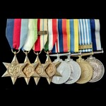 Second World War Atlantic and Mediterranean operations and Korean War long service group awarded ...