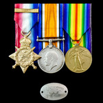Great War 1914 Old Contemptible's group awarded to Acting Sergeant A.E. Kimber, 1st/13th County o...