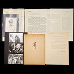 Germany - Third Reich: The interesting set of documents relating to the award of the Knights Cros...