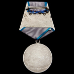 Russia – Soviet: A Liberation of the Baltics Medal for Courage to Reserve Senior Sergeant Pavel V...