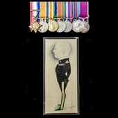 A very fine Great War Old Contemptible May 1915 Casualty, Second World War Home Service, Delhi Du...