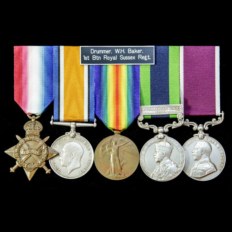 A fine Great War India North .   London Medal Company