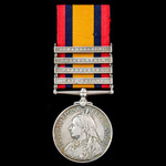 Advance on Johannesburg Battle of Doornkop May 1900 Casualty Queen's South Africa Medal 1899-1902...