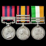 Third Burma War Cleanup Operations 1887 to 1889 and South Africa Boer War group awarded to Privat...