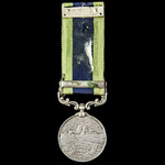 India General Service Medal 1908-1935, 1 Clasp: Afghanistan N.W.F. 1919, awarded to  Havildar Hus...