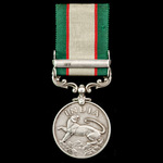 India General Service Medal 1936-1939, 1 Clasp: North West Frontier 1936-37, awarded to Signalman...